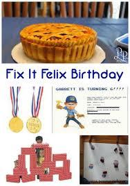 planning wreck ralph fix felix jr party