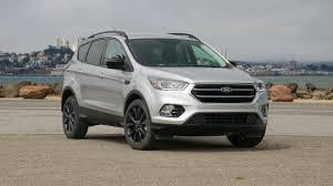 Ford Escape Sport - 2017 ford escape review roadshow