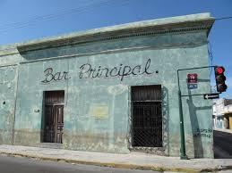 streets of merida facades of colonial homes lacasapark
