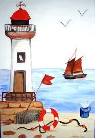 peinture de bord de mer peintures à la gouache les tableaux de catherine