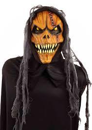 halloween mask costumes amazon com forum novelties men u0027s hooded pumpkin monster mask