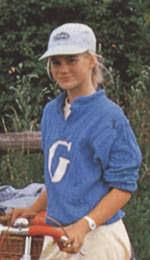 TV-Serien-Besetzung: Jessica Gast (Gaby) | TKKG- - gastAutogramm1985