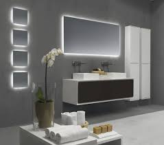 bathroom cabinets lighted mirror mirror led bathroom mirrors