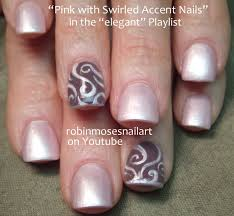 easy nail art designs 1 diy pretty black pink silver easy pink