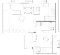 small floorplans beautiful attic apartment with clever design features