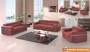 sierra maroon sofa in bonded leather by american eagle furniture