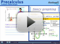 High School Math   Pre Calculus Thinkwell Homeschool