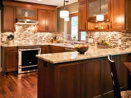 New Kitchen Tiles Design by Perfect Kitchen Backsplash Ideas With Cherry Cabinets On