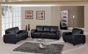 Leather Chairs Living Room by Choosing Black Leather Sofas For Striking Living Room Feature