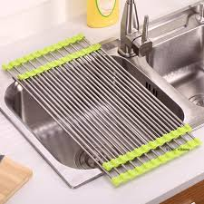 Popular Stainless Steel Dish Drainer TrayBuy Cheap Stainless - Kitchen sink dish rack
