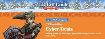 wii u console black friday deals nintendo eshop black friday deals dozens of wii u and 3ds games