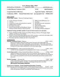 Sample Resume Pharmacy Technician by Resume Pharmacy Technician