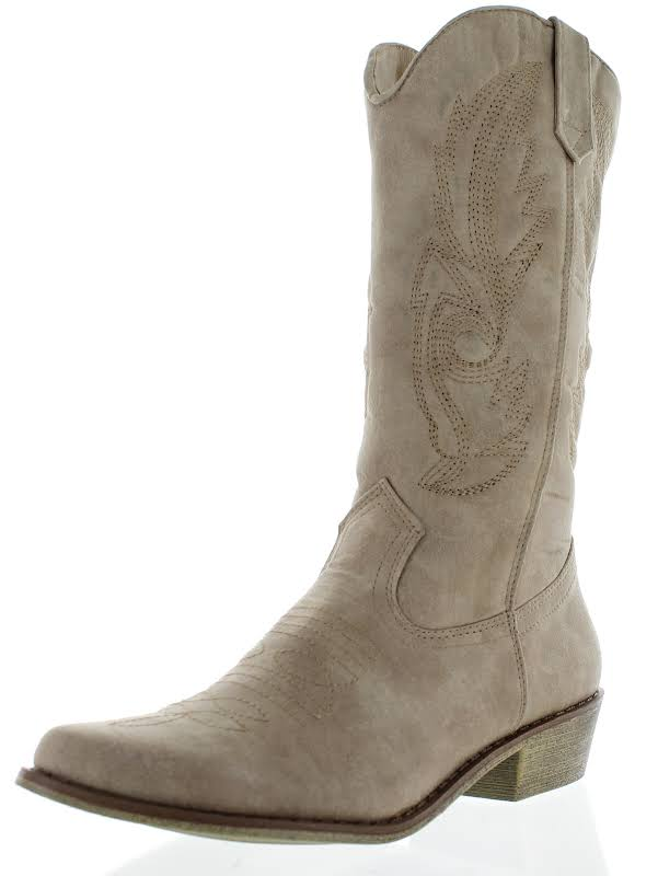 Coconuts By Matisse Gaucho Boot,Taupe,10