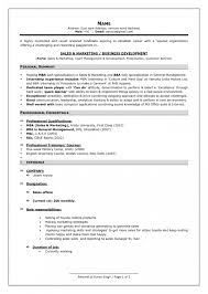 Sample Of Work Resume by Sample Of Resume For Experienced Person Resume Template Free
