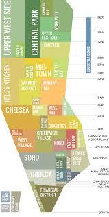 Map Of Boston Neighborhoods by Neighborhoods In Manhattan Nyc 2000 2368 Mapporn
