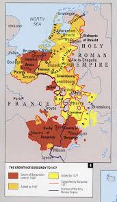 Map Of Western Europe by The Expansion Of Burgundy In Western Europe In The Late Middle