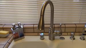 kitchen sinks leaky kitchen sink faucet handle american standard