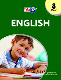 dav full marks guide of english for class 8