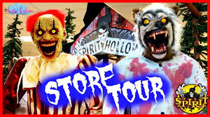 killer clown costume spirit halloween spirit halloween 2017 store tour animatronics props costumes and