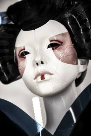 ghost half mask 102 best masks images on pinterest geishas ghost in the shell