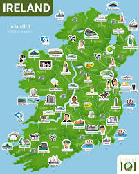 Map Of Ireland And England Map Of Ireland Ireland