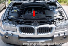 pelican technical article bmw x3 radiator replacement