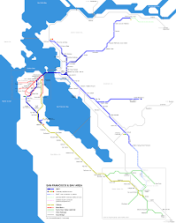 Amtrak Capitol Corridor Map by Trains Anthony Nachor