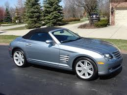 2005 crossfire limited roadster 18 700 miles 12 750