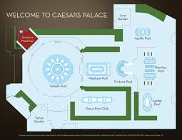 Maps Google Com Las Vegas by Garden Of The Gods Oasis Caesars Palace