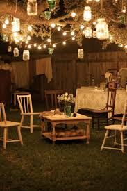 backyard lighting ideas for a party 17 best ideas about outdoor