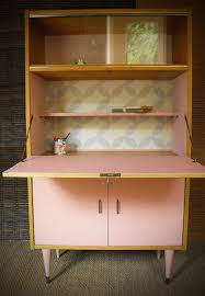 armoire vintage enfant meuble secrétaire vintage rénové et relooké octave meubles et