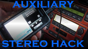 lexus lx470 for sale melbourne lexus auxillary stereo input hack youtube