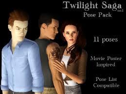 Mod The Sims   Twilight Saga no    Pose Pack Mod The Sims