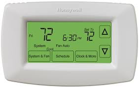 honeywell rth7600d touchscreen 7 day programmable thermostat