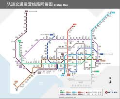 Metro Lines Map by Mtr U003e Shenzhen Metro Line 4 Longhua Line