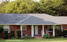 Hip Roof Ranch House Plans Porch Roof Designs Front Porch Designs Flat Roof Porch
