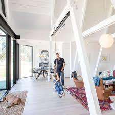 a frame cabin gets an a makeover sfgate