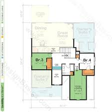 Floor Plans With Loft House Plans With Two Owner Suites Design Basics