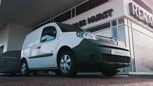 the new kangoo ze is now at charles hurst renault youtube
