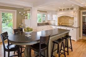 Wooden Kitchen Island Table Round Kitchen Islands Table Designs Desirable Unique Dark Wooden