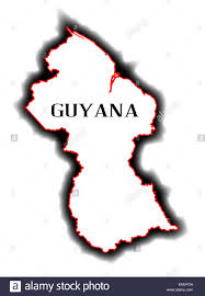 Map Of The South America by Large Political And Administrative Map Of Guyana With Roads And
