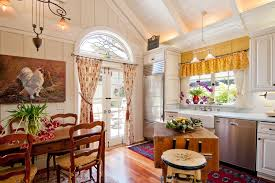 French Farmhouse Decor With Window Treatments Kitchen Farmhouse - French kitchen sinks