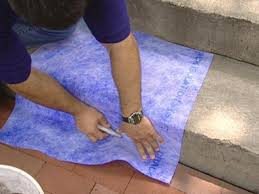 How To Seal A Paver Patio by How To Give A Tile Facelift To An Ordinary Concrete Porch How