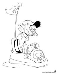 strange monkey coloring pages hellokids com