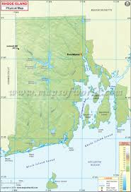 Blank Physical Map Of Russia by Map Of Rhode Island