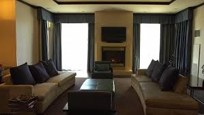 The swanky Presidential Suite at Harrah     s Resort Southern California served as base camp for the  quot