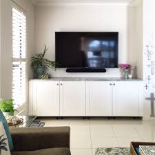 ikea savedal kitchen unit as tv cabinet media wall units