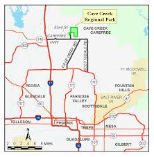 Payson Arizona Map by Cave Creek Regional Park Map Parks U0026 Recreation Maricopa