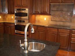 Cheap Backsplashes For Kitchens Gray Cabinets With Brown Beadboard Backsplash And Butcherblock