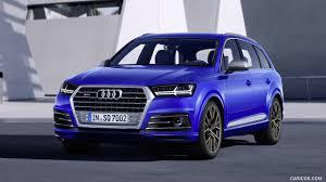 Audi Q7 Colors 2017 - 2017 audi sq7 tdi color sepang blue front hd wallpaper 4